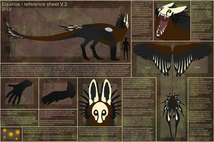 Equinox - reference sheet V.3 by M4WiE