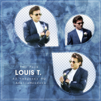 LOUIS TOMLINSON PNG Pack #1 by LoveEm08