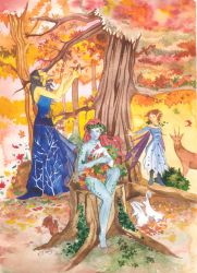 Brides of the trees by rej-