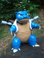 Blastoise_Pokemon_ my_hand_made_clay by Maciek1602