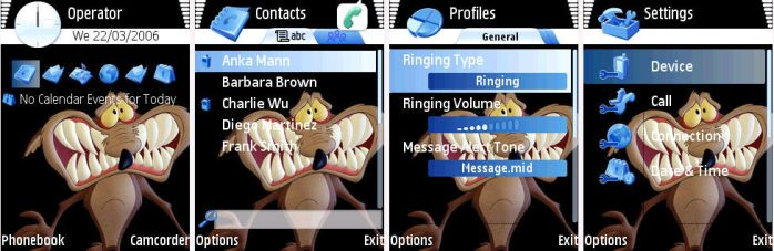 Willy il Coyote Symbian Theme by pcexpert91