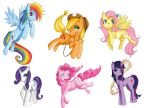 My Little Ponies collection by Checker-Bee