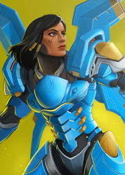 Pharah by Vylla