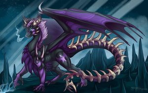 Commission : Zevanth Caverns by WeirdHyenas