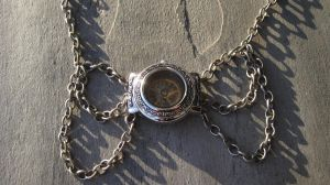 Time Through Glass Steampunk Necklace by PunkTrunk