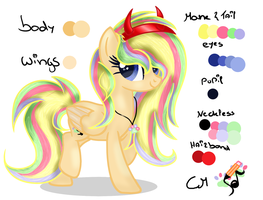 color guide Melody Scribble by xXMelody-ScribbleXx