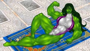 She Hulk 3 by ArtbroJohn