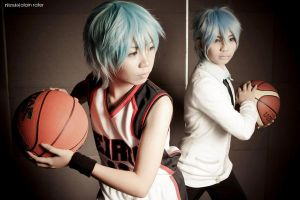 Now and Then, Kuroko by Animaidens