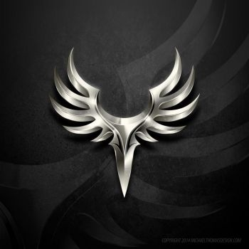 Ailes de la Nuit (Wings of the Night) Clan Logo by LittleBOYblack