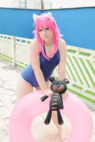 Pool Party Annie _ Cosplay _ League of Legends by NeeHime