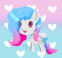 {Oc/Rpc My Little Pony} Beverly Chibi by TrafalgarNaomy