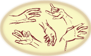 Day 29- hand practice by bookwormy606