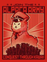 Alpaca Army! by savagesparrow