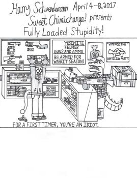 Fully Loaded Stupidity! by OliverRed