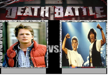 Marty Mcfly vs. Bill and Ted by Tatsunokoisthebest