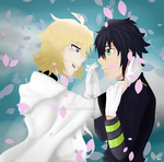 MikaYuu Art Trade by AidanTheGaymer