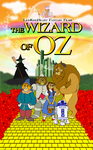 LKHFF Wizard of OZ poster by RetroUniverseArt