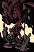 Hellboy 2017 by AnuharNamur