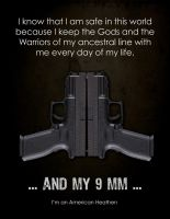 Thors 9mm XD poster by Vikingjack