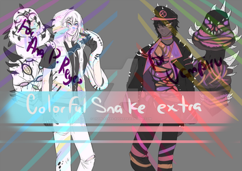 Colorful Snake (EXTRA) by Deadclub-Adopt