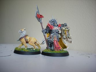 Stormcast and Gryph-Hound by Shakalooloo