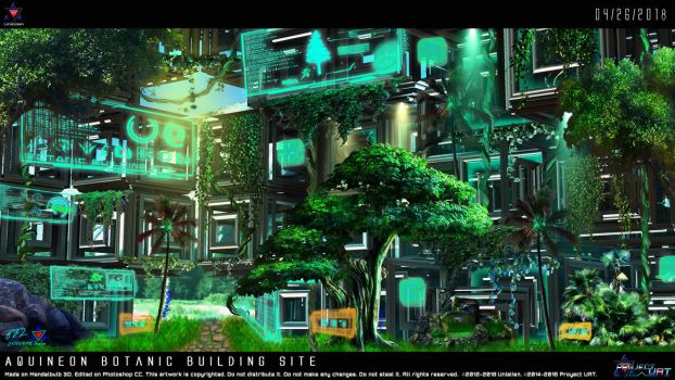 Aquineon Botanic Building Site by Unialien