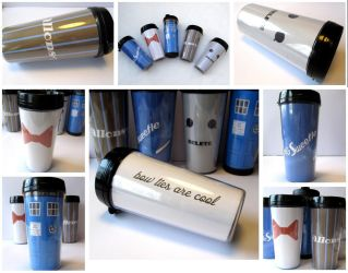 Doctor Who thermal mug by F-A