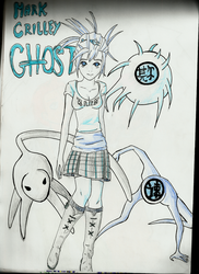 Mark Crilley's ghosts by robinroxx-X3