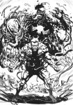 Eddie Brock's Symbiotes lineart by Taclobanon