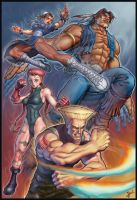 Street Fighter Tribute by HecM