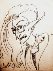 Hipster Vampire by EuphoniousCacophony