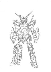gundam unicorn deactivated by budoxesquire