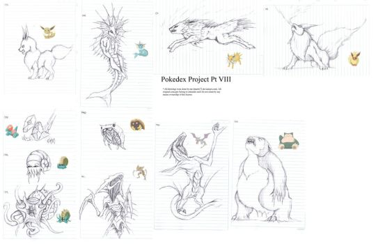Pokedex Project pt VIII by lmerlo72