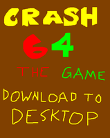 CRASH64 GAME V2 .zip file by WolfTron
