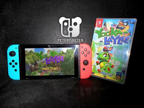 Yooka Laylee Nintendo Switch by PeterisBeter