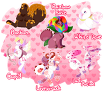 [CLOSED] Chimereons - Valentine's Day Adopts