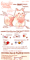 SnugglePuff Species Guide by luo-chan