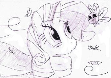 Rarity was visiting the South of Brazil by PaKuTo