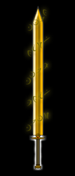 ancient rune sword of gold by zimqn