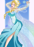 Queen Elsa of Arendelle by DarkRinoa88