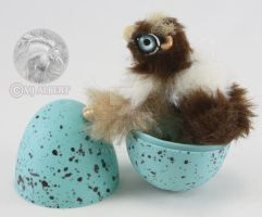Mini Poseable Gryphon Art Doll by M-J-Albert