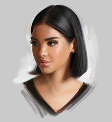 Portrait Drawing by GabrielleBrickey