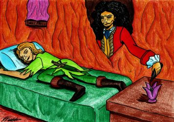 Hook Poisons Peter Pan by danielwilmot