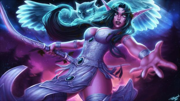 Tyrande Whisperwind by PersonalAmi