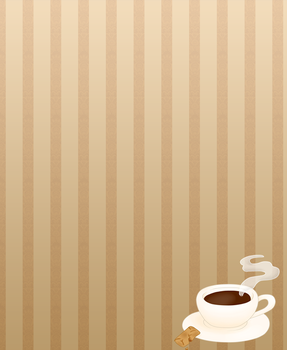 Free custom background - Coffee and  Biscuit by Hoshi-Hana