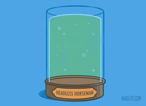 Headless horseman's Jar by Naolito