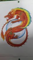 Dragon from China by Liliandril