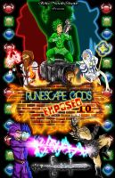 Runescape Gods Exposed Poster by l3nbak
