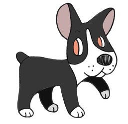 Day 23: Boston Terrier by Alice-of-Africa