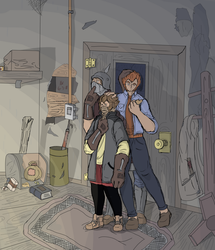 Spend the night in a not so decrepit house by Eclipse-Being